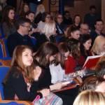 Drugi red gledališta bio je rezerviran za dosadašnje nositelje krune najčitatelj godine/ foto: Ivan Božić/srednja.hr