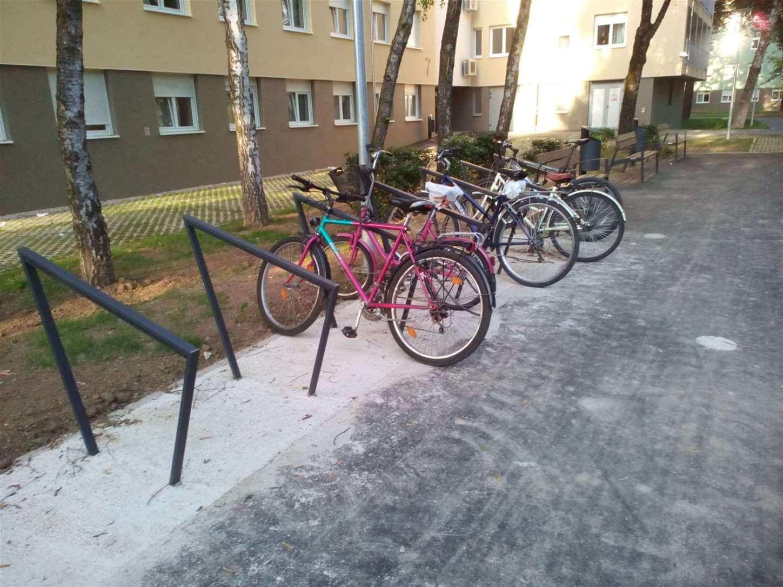 [FOTO] Dobre vijesti za studente bicikliste: Još jedan zagrebački dom opremljen natkrivenim parkingom