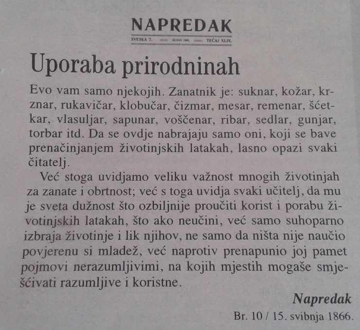 Ovo su obrti za koje su se hrvatski učenici školovali prije 150 godina