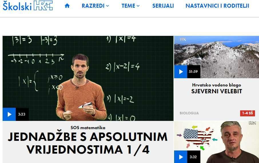 'Školski.hr' novi HRT-ov portal namijenjen svim učenicima