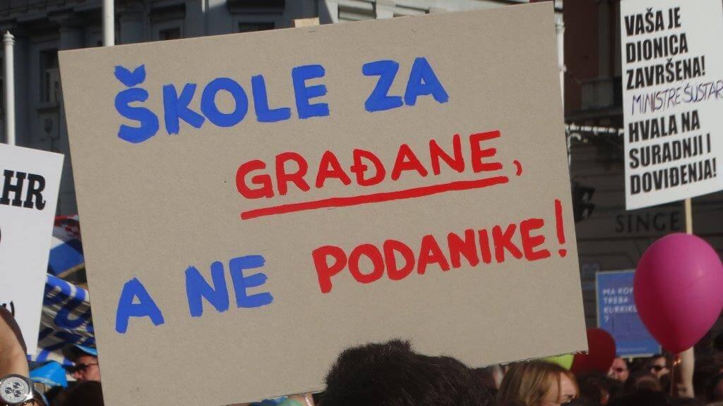 Ipak ništa od Građanskog odgoja u Zagrebu: Ostajemo na Bandićevom odgoju!