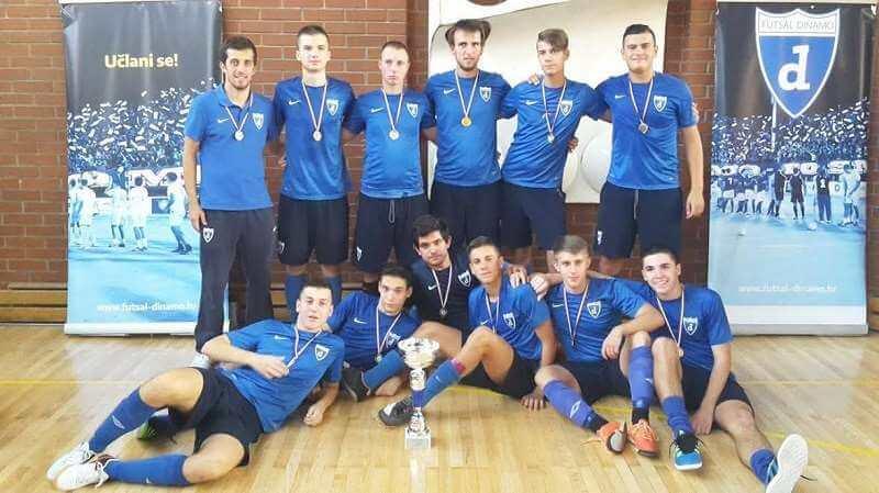 Juniori Futsal Dinama osvojili međunarodni turnir: U finalu bolji od vršnjaka iz Italije