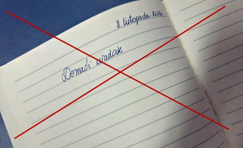 Hrvatski školarci nisu dobivali zadaću 30 dana, a rezultati su zapanjujući