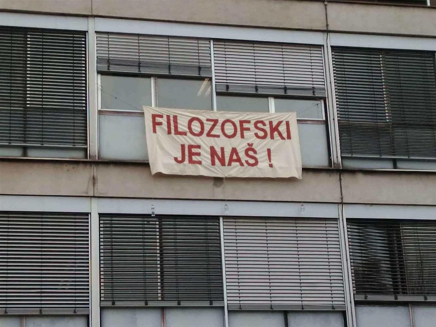 Sporni izbori na Filozofskom bez predstavnika razriješenog Zbora u izbornim tijelima