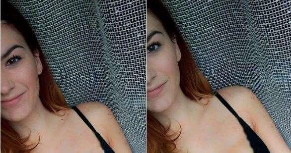 'Da, upravo sam stavila svoju sliku u grudnjaku na Facebook. Zašto?'
