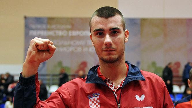 Mladi hrvatski stolnotenisač potukao velikog Nijemca i ušao među najboljih 16 na SP-u
