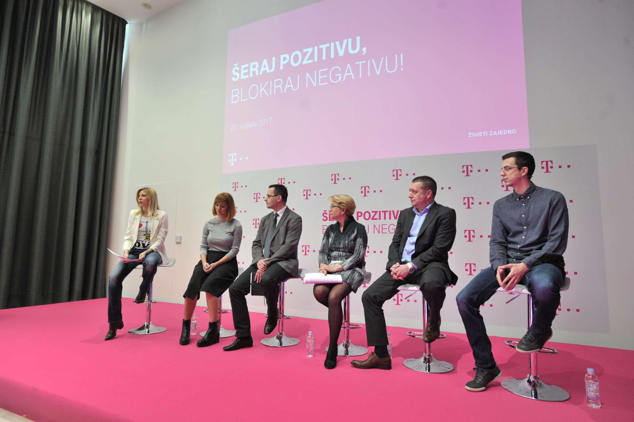 Pokrenuta inicijativu 'Šeraj pozitivu, blokiraj negativu' za povećanje sigurnosti djece na internetu