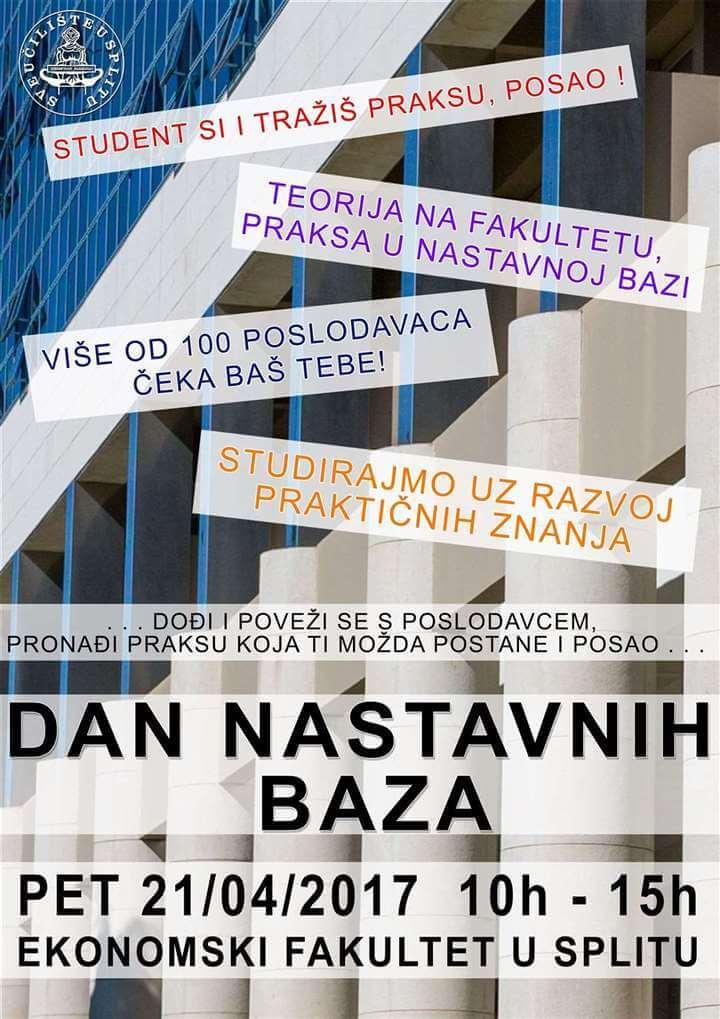 Povećajte svoju zapošljivost: Preko sto ustanova i tvrtki nudi praksu studentima iz Splita