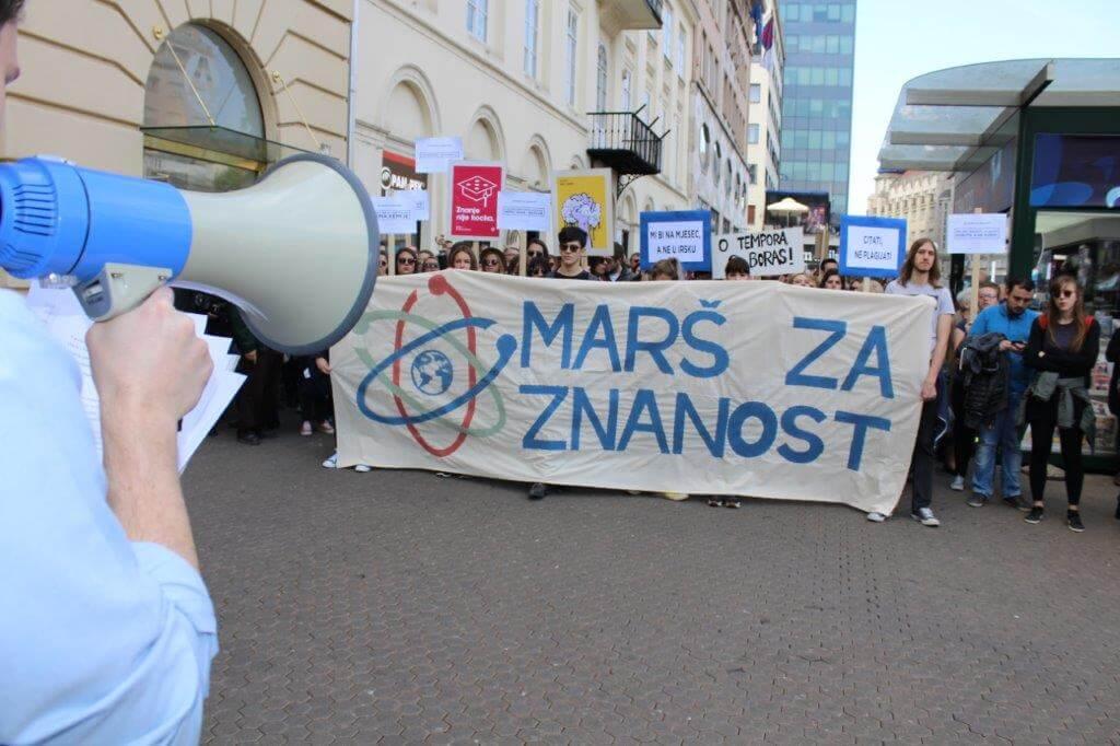 Znanost i etičnost umjesto pseudoznanosti i klijentelizma: Evo zašto za tjedan dana marširati za znanost u Zagrebu i Splitu