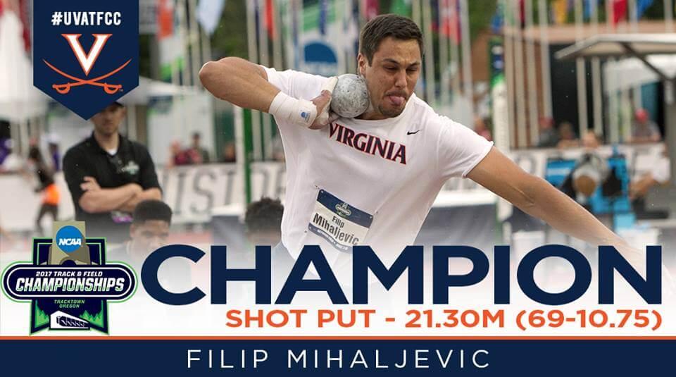 Hrvatski student prvak u bacanju kugle na sveučilišnom prvenstvu SAD-a