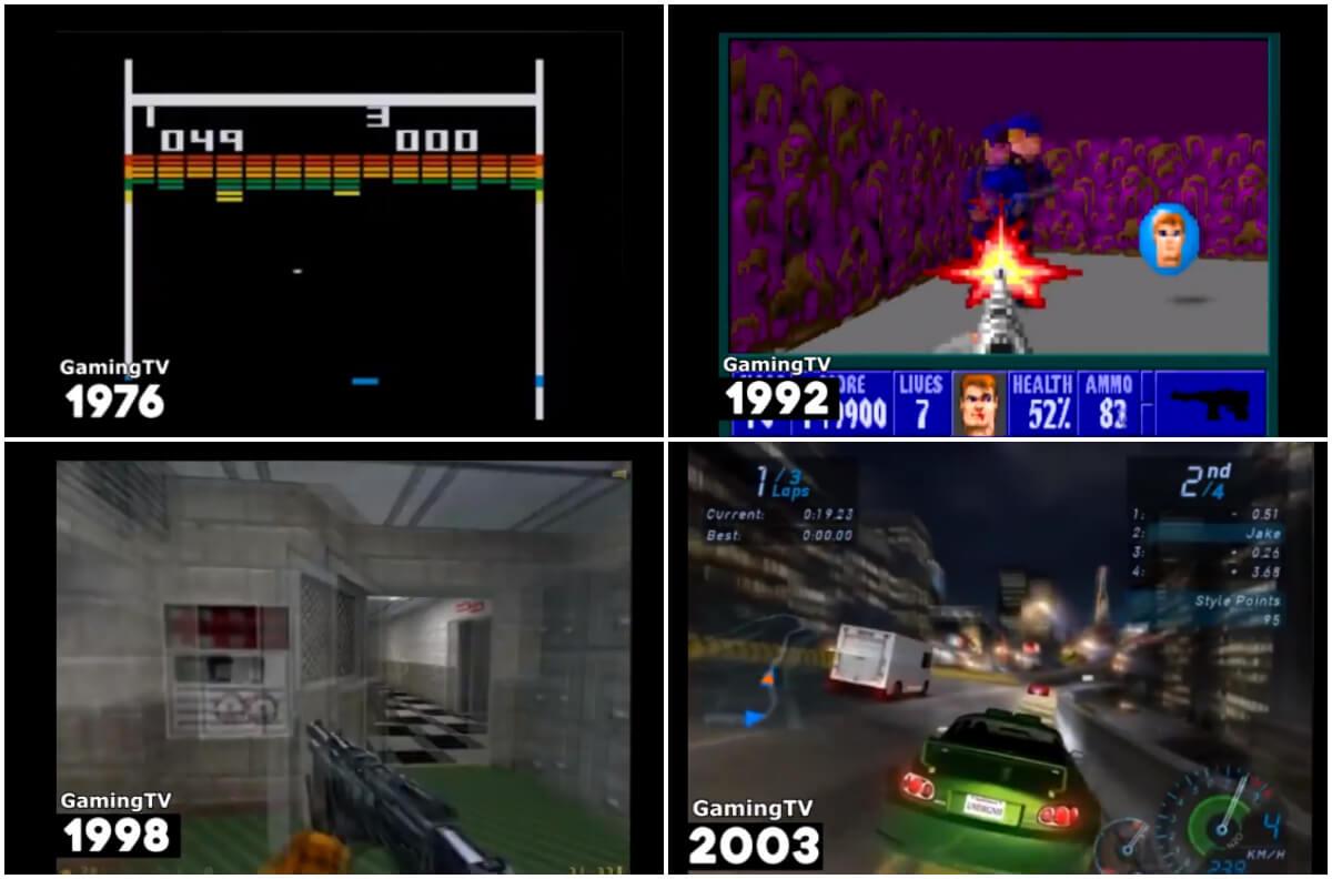 60 godina video igrica u 5 minuta: Gejmeri, prepoznajete li ih sve?