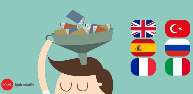 Prilika koja se ne propušta: Klub mladih Split organizira besplatne tečajeve šest stranih jezika