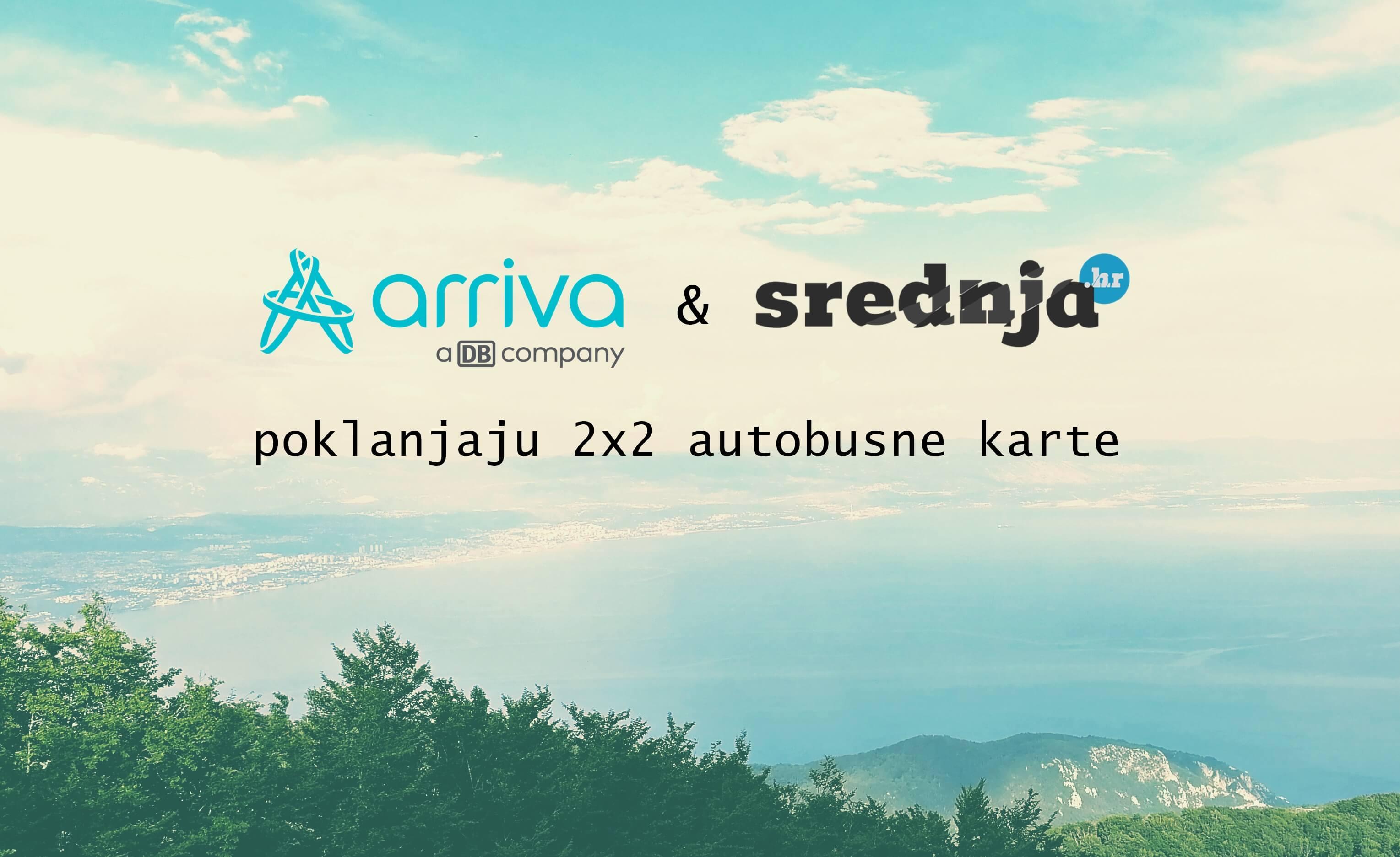 Srednja.hr i Arriva Hrvatska poklanjaju 2×2 autobusne karte