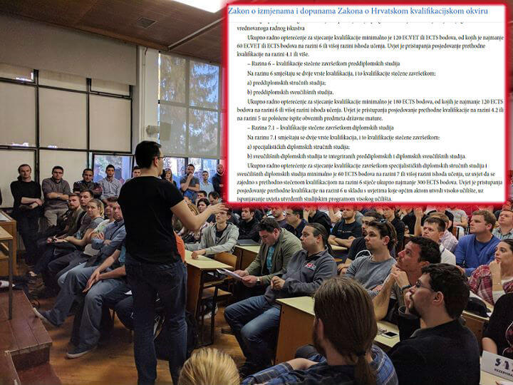 Studenti stručnih studija oštro o Ustavnoj odluci: Stop diskriminaciji nad 70.000 ljudi