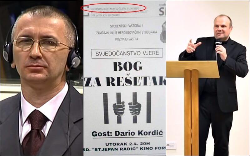 Upravitelj SC-a Zagrebu oglasio se povodom gostovanja ratnog zločinca u studentskom domu