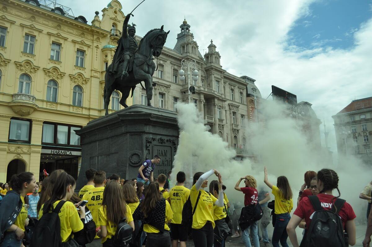 Konkurencija je bila žestoka: Odabrana najbolja majica ovogodišnje norijade u Zagrebu