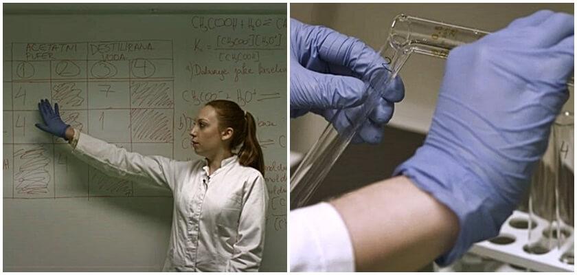 Studenti biotehologije u video klipovima pojasnili pokuse koji se ispituju na maturi iz kemije