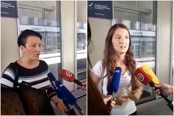 [VIDEO] Drama ispred NCVVO-a: Maturantica s mamom protestira zbog ispita iz Hrvatskog
