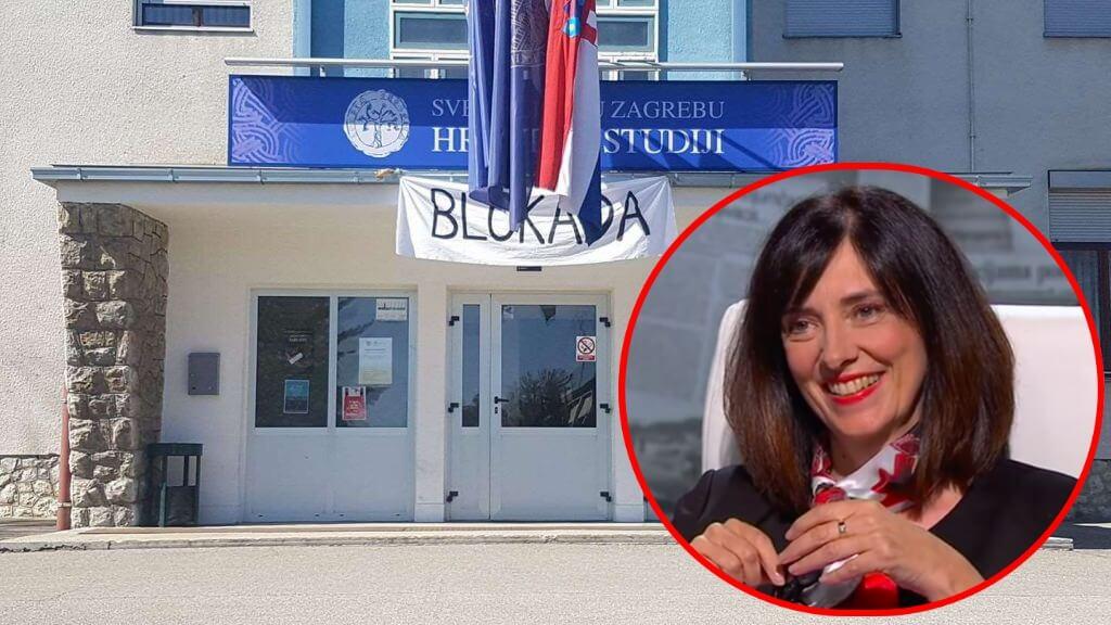 Hrvatski studiji podigli kaznenu prijavu protiv ministrice Divjak: 'Zloporabila je svoj položaj'