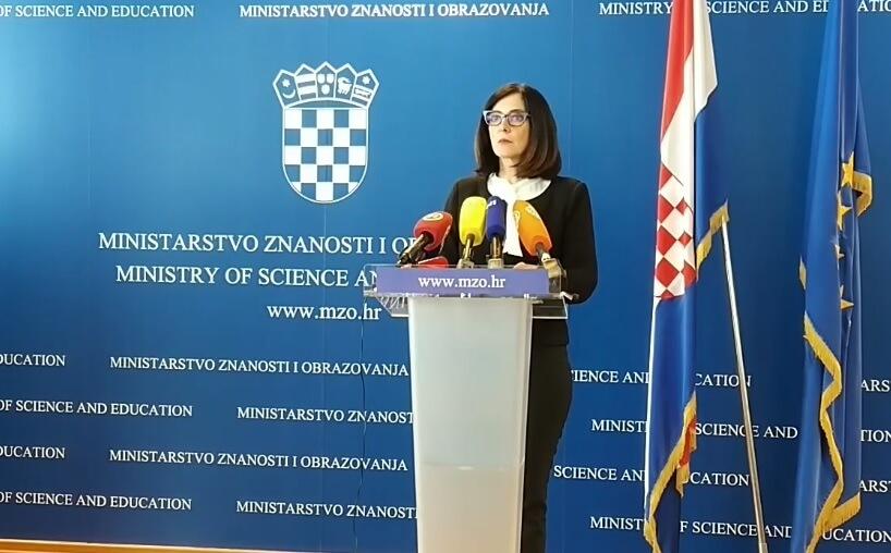 Ministrica Divjak poslala poruku učenicima i roditeljima uoči sutrašnjeg štrajka