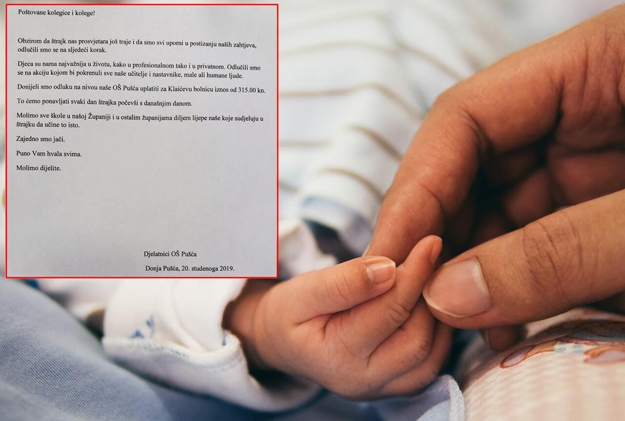 Štrajkaši se masovno priključuju novoj akciji: Po 315 kuna doniraju dječjim bolnicama