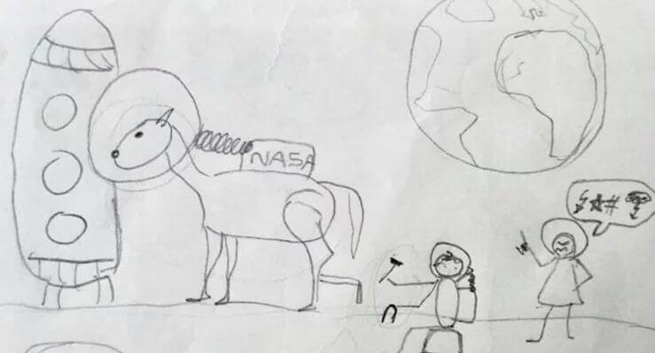 Urnebesan crtež: Prepoznajete li koju je pjesmu nacrtao učenik prvog razreda?
