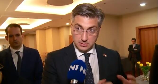 Plenković komentirao prosvjed: Za obiteljskim ručkom morao sam objašnjavati što Vlada radi