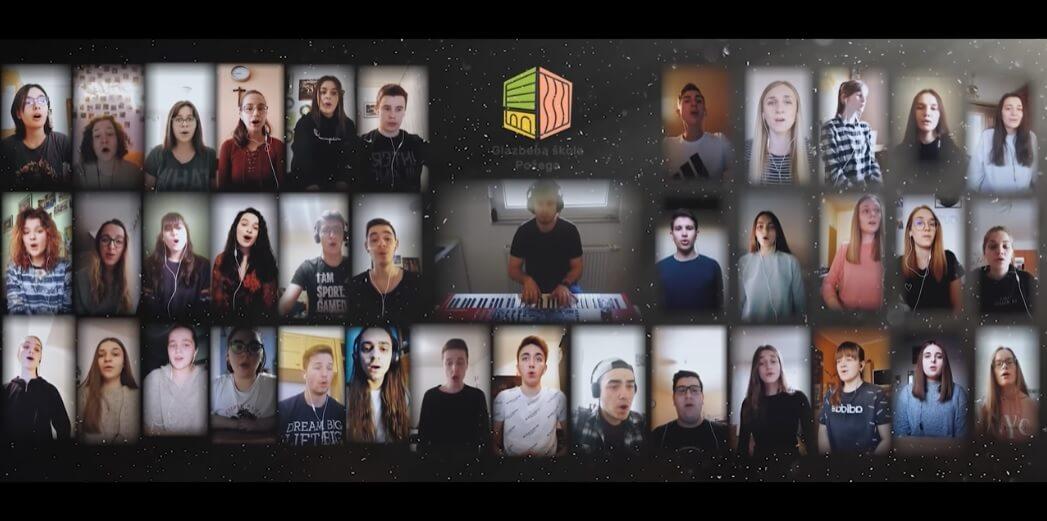 [VIDEO] Da se naježite: Učenici iz Požege snimili obradu pjesme 'Moja domovina' i zvuče fenomenalno