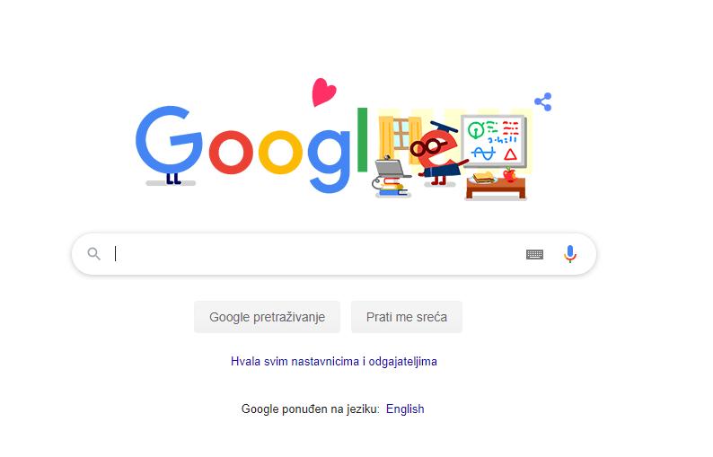 Google zahvalio učiteljima i nastavnicima: 'Pomažete da djeca ostanu sigurna'