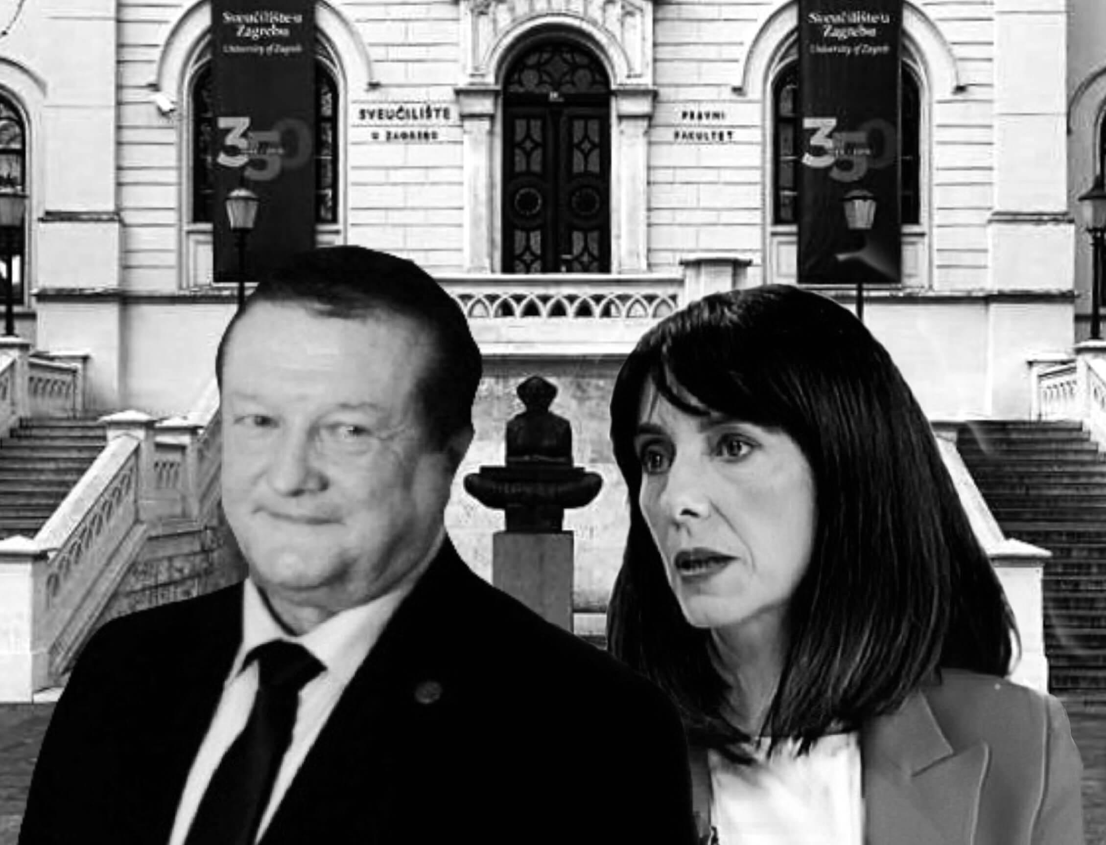 Blaženki Divjak novi je šef rektor Boras: Nakon 3 godine sukoba, bit će to 'tvrda kohabitacija'