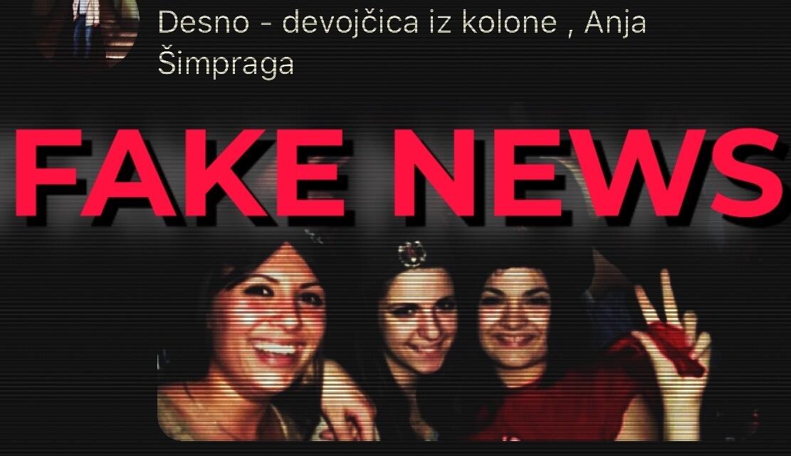 Knjižnica Hrvatskog katoličkog sveučilišta širi lažnu fotografiju zastupnice SDSS-a Anje Šimprage