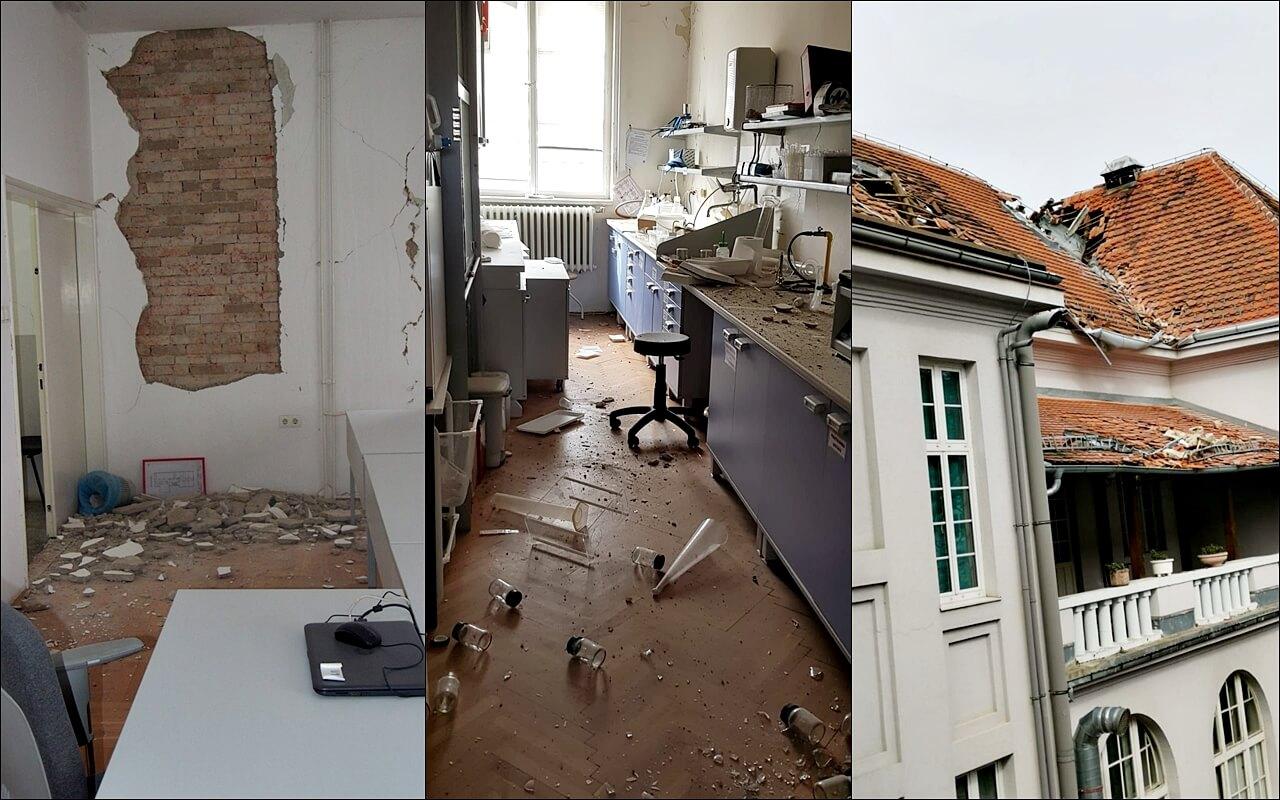 Istražili smo što je s obnovom fakseva stradalih u potresu: 'Spremni smo dio ili cijelu nastavu izvoditi online'