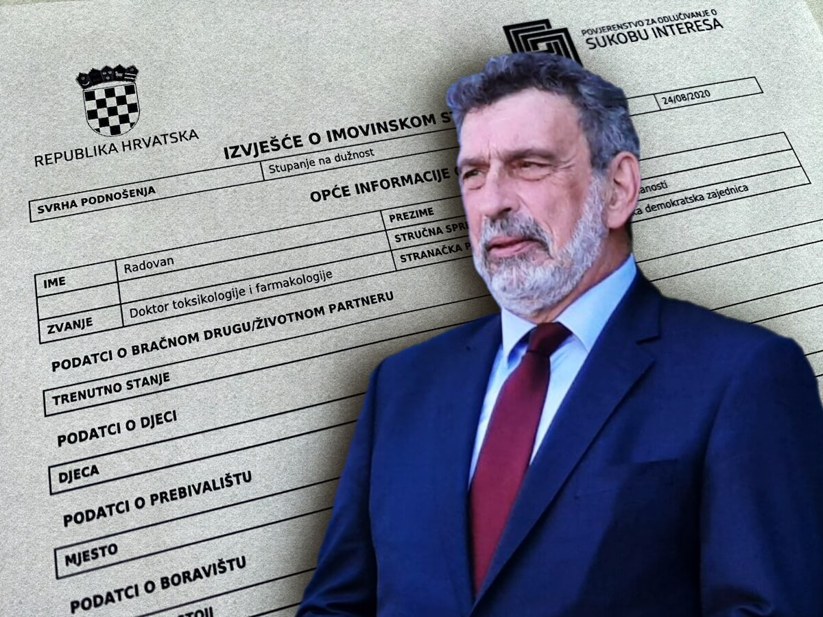 Kuća, stanovi i zemljišta vrijedni milijune kuna: Objavljena imovinska kartica ministra Fuchsa