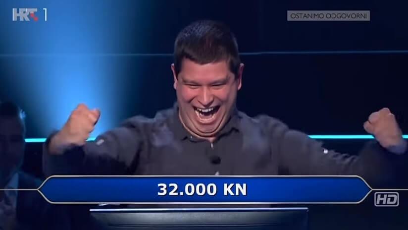 Nasmijat će vas do suza: Branimir iz najluđe 'Potjere' sinoć je napravio show i u 'Milijunašu'