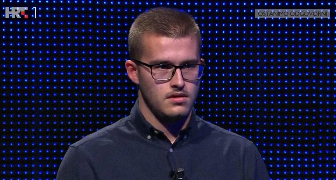 Student PMF-a briljirao u Potjeri: 'Kada se iz tunela pojavio Krešo, cijelom je timu raspoloženje splasnulo'