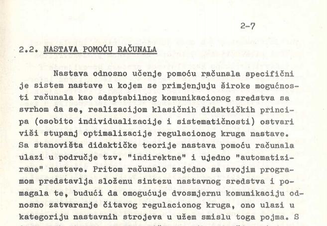 Ovako su prije 50 godina zamišljali digitalizaciju nastave: Profesor će pratiti koliko su studenti ažurni