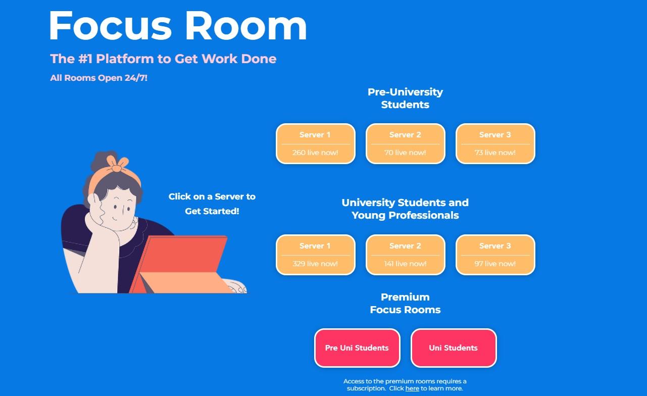 Nedostaje vam osuda ljudi iz knjižnice kada skrolate umjesto da učite? Focus Room je idealna stvar za vas