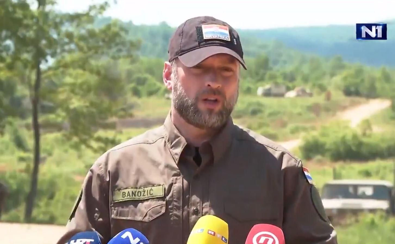 Ministar obrane dr. sc. Mario Banožić