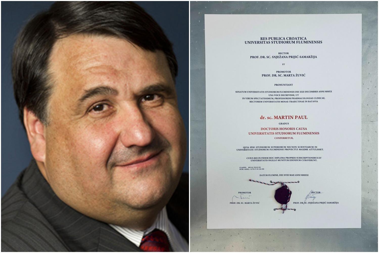 Sveučilište u Rijeci podijelilo novi počasni doktorat: Dobitnik je čelnik mreže kojoj su se priključili