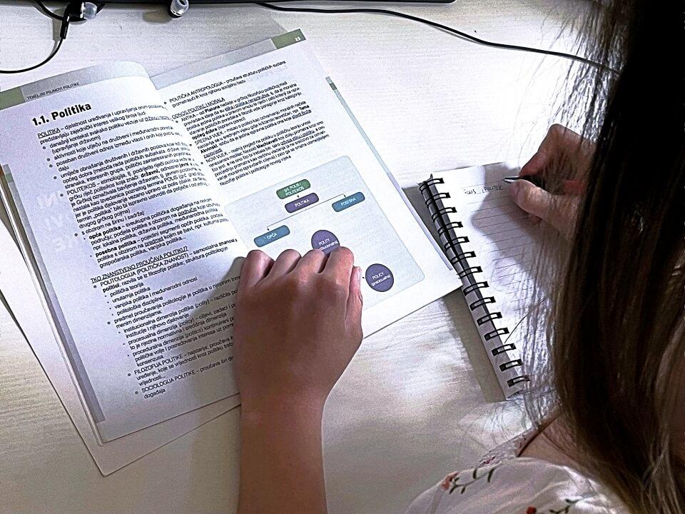 maturantica uči politiku i gospodarstvo