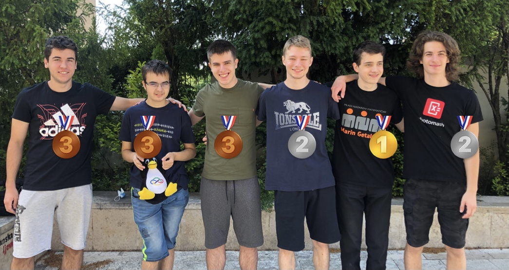 Povijesni uspjeh naših natjecatelja: Hrvatska je osvojila šest medalja na Matematičkoj olimpijadi!