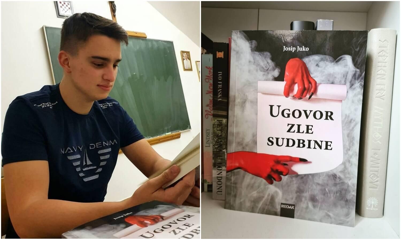 Učenik zagrebačke škole sa 17 objavio knjigu: 'Pisanjem romana završio sam ozloglašenu 2020.'