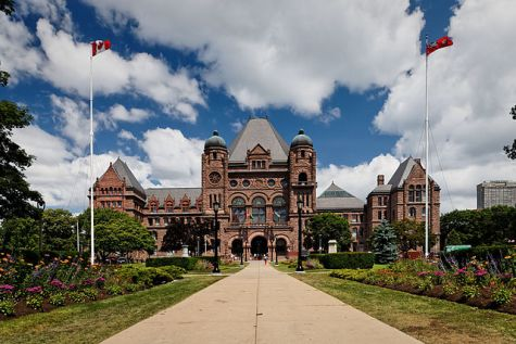 Queen's Park, Toronto, Ontario by Benson Kua. Used under CC BY-SA 2.0. Retrieved from https://commons.wikimedia.org/w/index.php?curid=10803582.