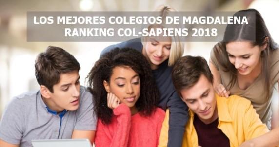 Los mejores colegios de Magdalena Ranking Col-Sapiens 2018