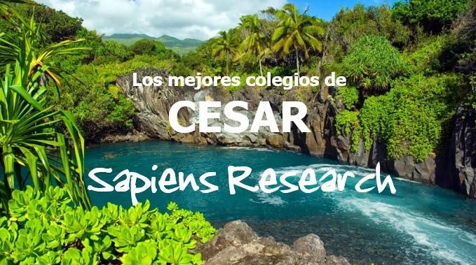Ranking de los mejores colegios de Cesar