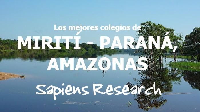 Los mejores colegios de Mirití - Paraná, Amazonas