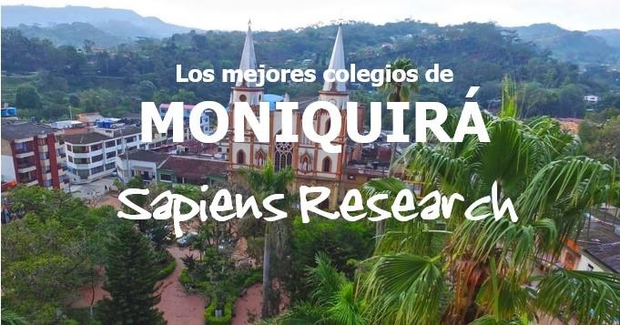 Ranking de los mejores colegios de Moniquirá 2019-2020