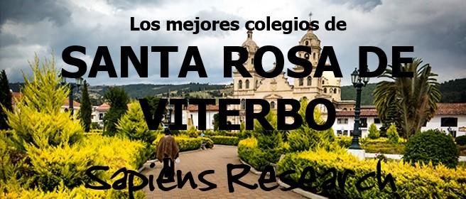Ranking de los mejores colegios de Santa Rosa de Viterbo 2019-2020