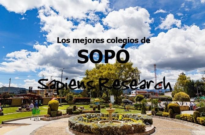 Ranking de los mejores colegios de Sopó 2019-2020