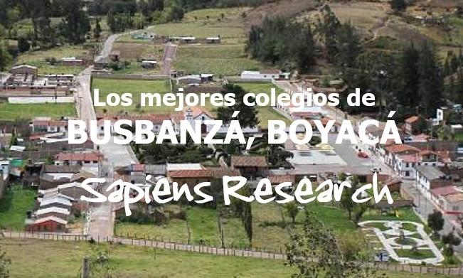 Los mejores colegios de Busbanzá, Boyacá